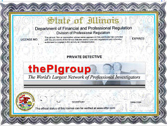 Study material for the Illinois private detective license test