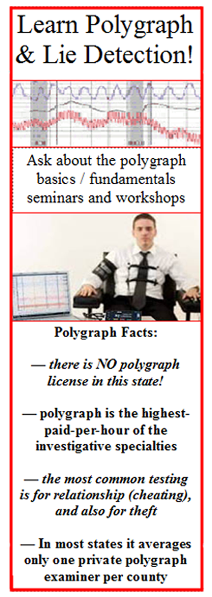 Learn polygraph in Hawaii