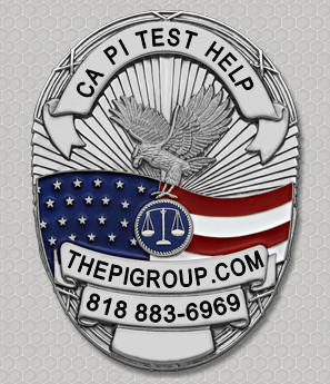 study guide questions for the California Private Investigator license test