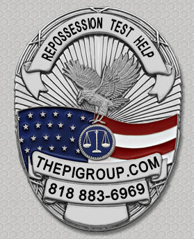 practice test study guide license test for California Repossession license