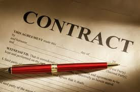 alarm company contract